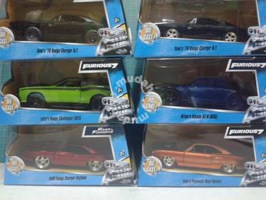 Fast and Furious7 Set of 6