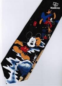 Mickey Mouse Goofy Repair Water Cartoon Neck Tie