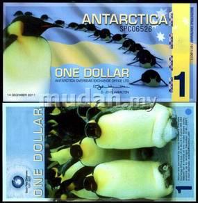 Antarctica 1 dollar 2011 polymer unc