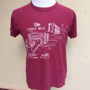 Vintage 1982 Three Mile Run Shirt Size L