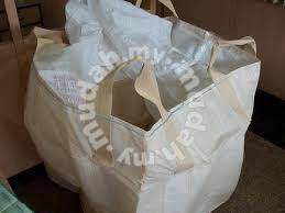 Jumbo beg guni beras terpakai