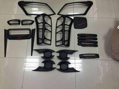 Isuzu d-max full set handle cover lamp cover