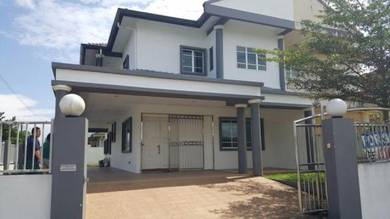 Double Storey Semi D at Stapok (MOVE IN CONDITION)