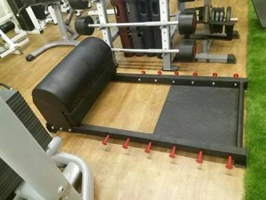 Pivot fitness professional hip thruster bench gym