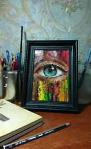 Lukisan / painting / bingkai / frame