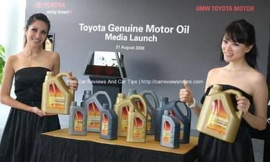 Toyota service centre repair rebuilt setapak