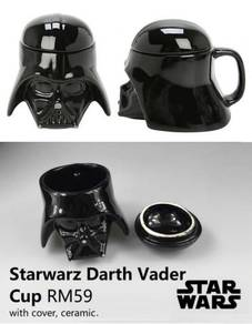 Starwarz Darth Vader Mug Cup Cawan