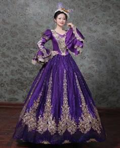 Long Sleeve Victorian Gown Wedding RBMWD0333