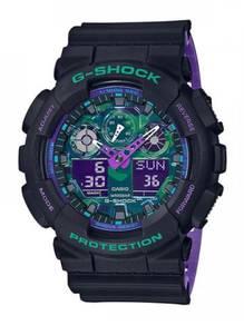 Casio G-SHOCK Men Ana-Digit Sport Watch GA-100BL-1