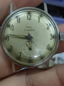 Vintage Pax gent watch