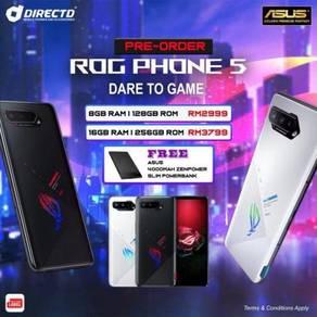ASUS ROG Phone 5 (6K BATT/65W CAS/S.DRAGON 888)