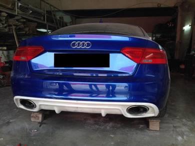 Audi A5 S5 RS5 Rieger Rear Diffuser