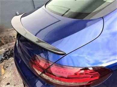 Mercedes W205/Coupe 2 Door Carbon Fiber Spoiler