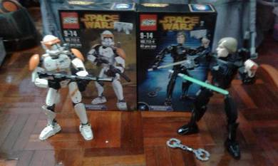 Star wars Luke skywalker and commander cody