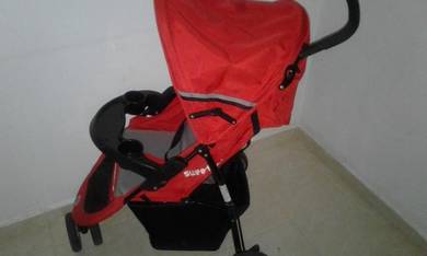 Stroller and rocking chair
