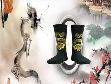 Socks (Thick/Dragon/Yellow)