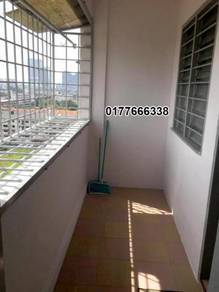 FREEHOLD- (High View)Apartment lift furnished near B.Hilir B.Cina Town