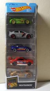 Hotwheels 5 Pack Nightburnerz Crx Lancer