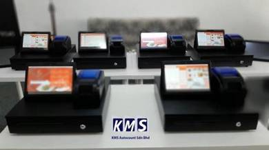 KMS Tablet POS System Mesin Cashier Cash Register