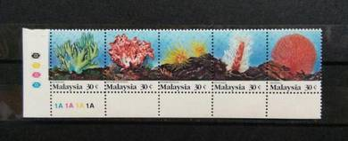 Coral of Malaysia 1992 mnh BK12