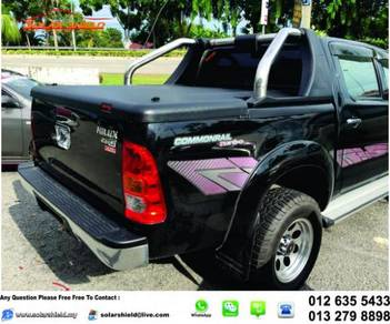 Toyota Hilux Cover With Bar