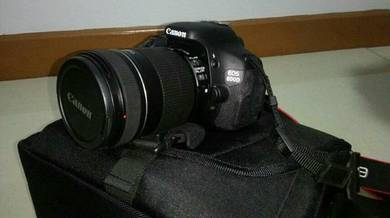Eos 600d body ii with epson 18-135mm lens