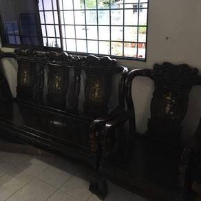 Quality wooden sofa