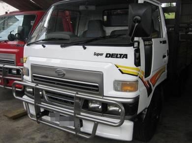 Daihatsu Delta lori stiker sticker ORI hicom isuzu