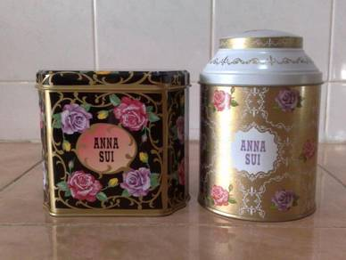 Kotak anna sui cookie tin box 2