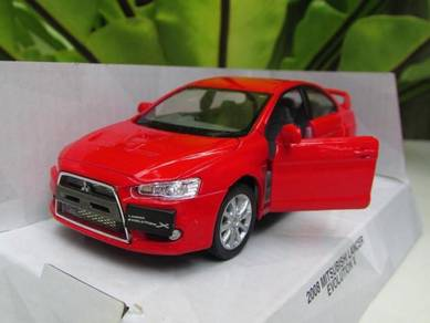Kinsmart (12cm) Mitsubishi Lancer EVO X Red