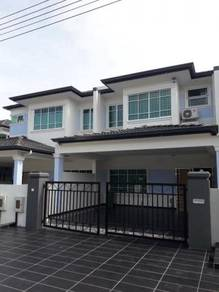 Taman Berlian Stabil,Samarahan,New double storey intermediate terrace