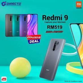 XIAOMI Redmi 9 (6.53 FHD+/4GB RAM/64GB ROM)MYset