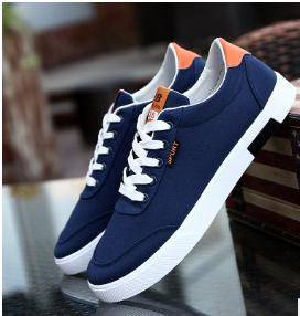 Man casual shoes (blue)