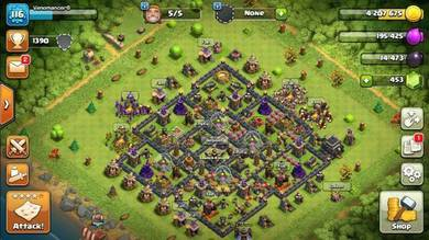 Clash of clans akaun for sell