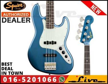 Fender Squier James Johnston Jazz Bass Guitar