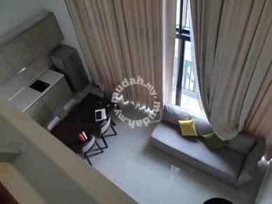 2r2b duplex penthouse I suite I city central mall I-suite i-city sec 7