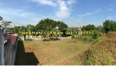 [ VIEW CANTIK MASJID. 10,000 sqft ] Tanah Lot Banglo Sek 9 Shah Alam