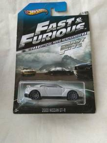 Hotwheels Fast and Furious Wave 1 Skyline GTR R35