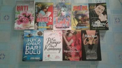 Novel untuk dijual