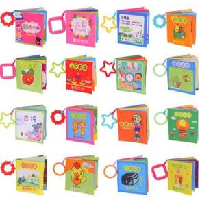 Baby Kids Cloth Book Early Educational Learning