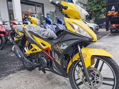 Sym sportrider 125cc dep00 sahaja bayaran