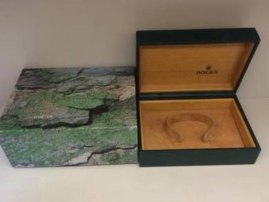 042) rolex watch box