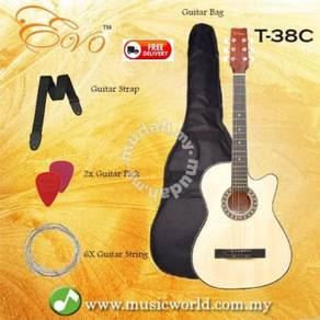 EVO Guitar T-38C Value Package
