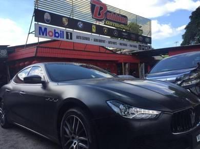 Porsche ferrari lamboghini eurocar service centre