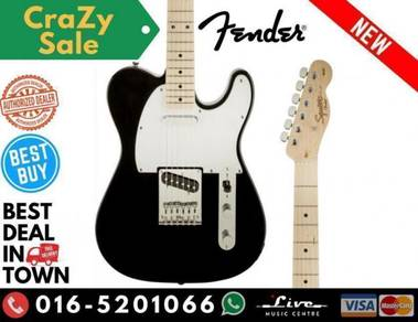 Squier Affinity Series Telecaster Guitar Black