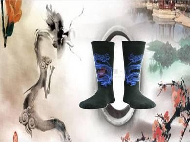 Socks (Thick/Dragon/Blue)