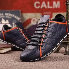 F0243 Blue Stylish Classic Sneaker Men Kasut Shoes