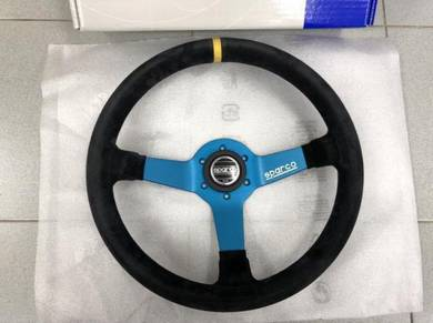 Sparco MONZA L550 Steering Wheel Black Suede 350mm