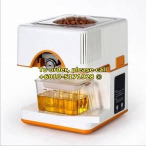 Oil Presser Pressing Hot Heating Machine Mesin