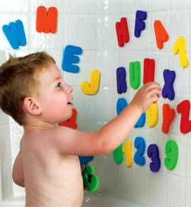 36pcs Letters And Numbers Baby and Kids Bath Toy